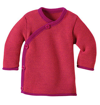 berry disana melange baby sweater jacket