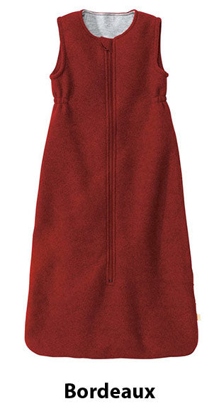 Boiled Wool Sleeping Bag Bordeaux