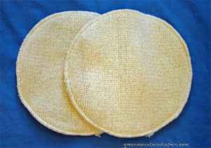 disana wool silk nursing pads