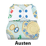 Flip Diaper Cover Jane Austen