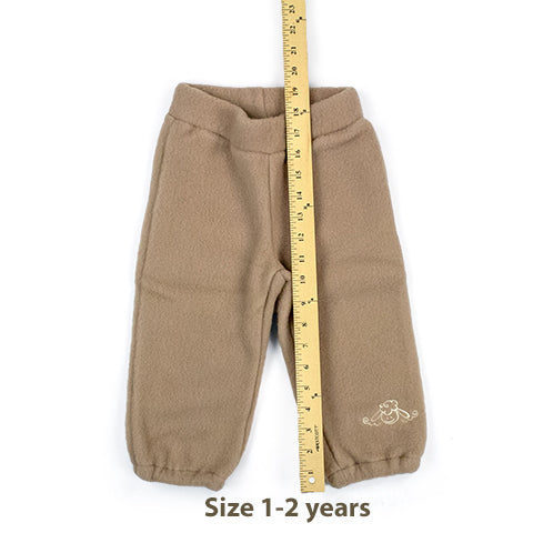 Size 1-2 year wool baby pants