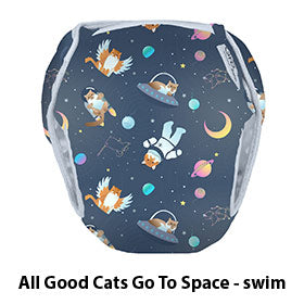 Swim Diaper All Good Cats Go To Space