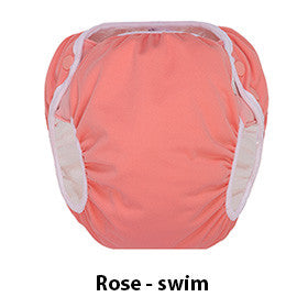 Grovia Swim Diaper rose pink