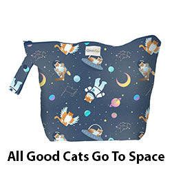 Wet Bag All Good Cats Go To Space