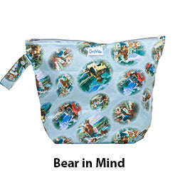 GroVia Wet Bag Bear in Mind