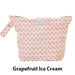 GroVia Wet Bag Grapefruit Ice Cream