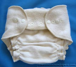 medium cotton diaper