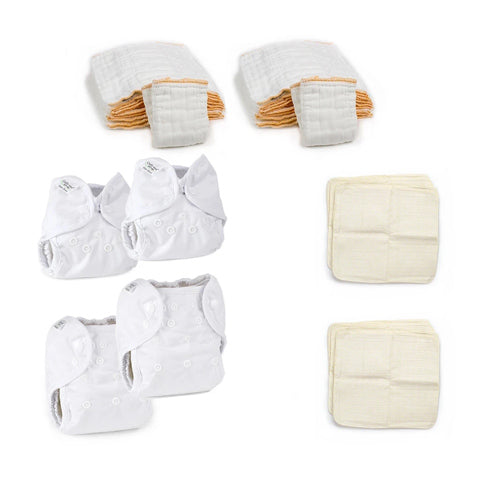 newborn cloth diapering kit