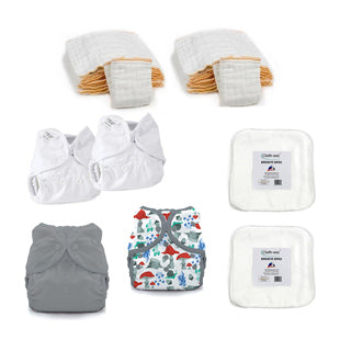 newborn hello baby kit with forest frolic