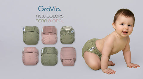 Grovia new colors fern and opal