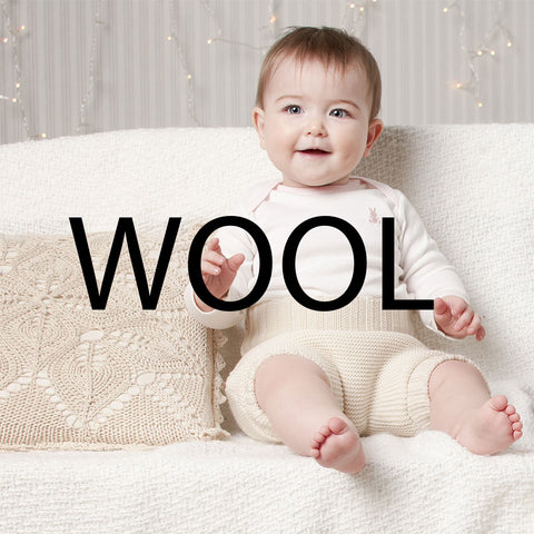 wool baby clothing