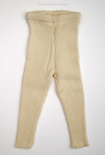 natural wool leggings