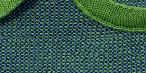 green melange wool