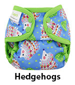 hedgehogs newborn diaper cover