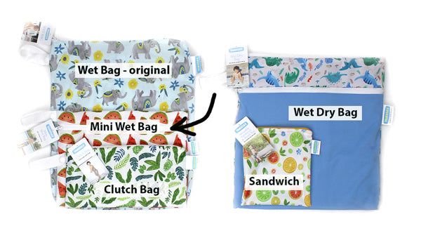 mini wet bag compared