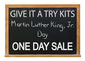 one day sale martin luther king day sale