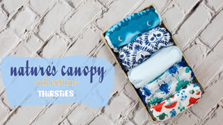 Nature's Canopy Thirsties new prints cloth diaper covers