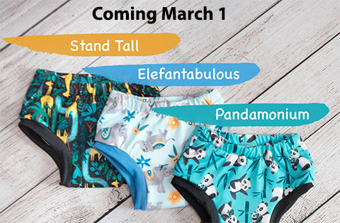 potty training pants colors new