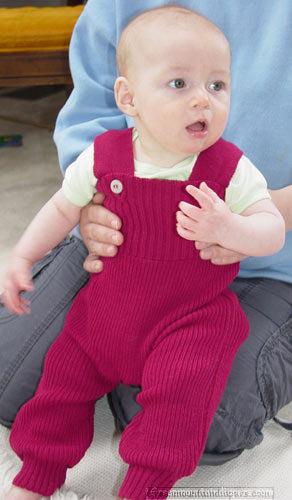 baby in disana wool overalls disana trousers