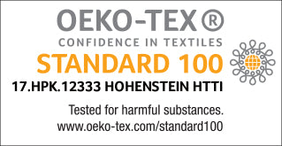 Oeko Tex certified diaper