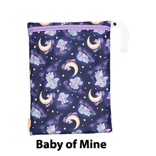 Baby of Mine on the go cloth diaper wet bag smart bottoms