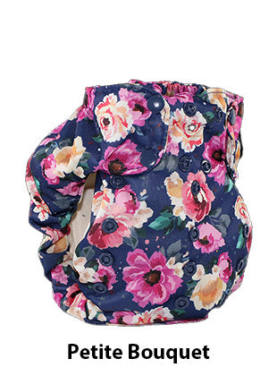 Petite Bouquet smart bottoms flower print