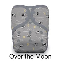 Pocket Diaper Snaps Over the Moon