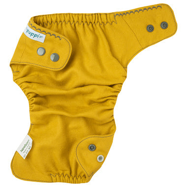 inside of a Puppi wool diaper cover