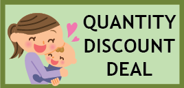 Thirsties Quantity discount