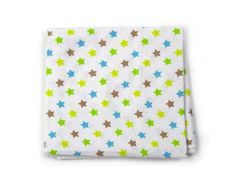 stars print receiving blanket