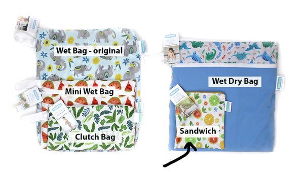 reusable sandwich bag size