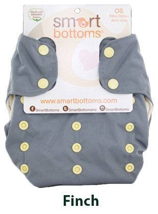 Smart Bottoms Smart One Finch Grey