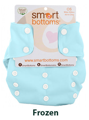 Smart Bottoms Smart One Frozen Blue