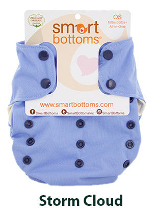 Smart Bottoms Smart One Storm Cloud