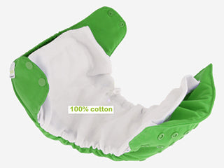 cotton interior aio diaper