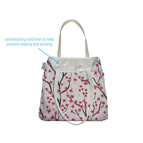 inside of the Thirsties simple tote