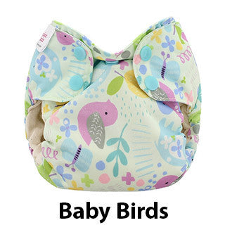 Blueberry Newborn Simplex baby birds print