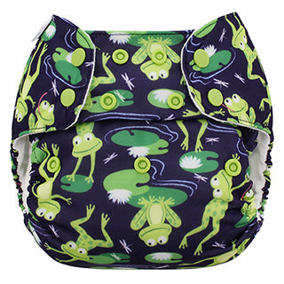 blueberry and me froggies simplex aio diaper