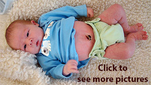 simplex newborn images on a baby