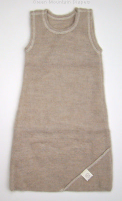 sand tan wool softsleeper baby wrap