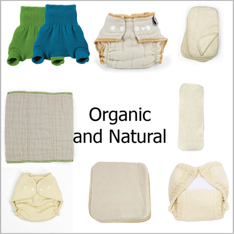 organic and natural cloth diapers