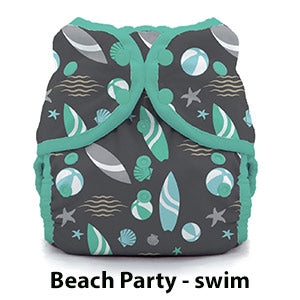 Thirsties swim diapers whales print