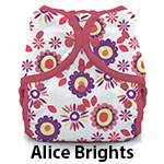 Duo Wrap Snap Size Three Alice Brights