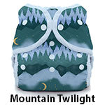 Duo Wrap Size Three Mountain Twilight