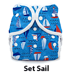 Thirsties Duo Wrap Snap Set Sail