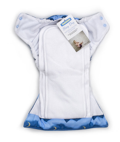 Thirstied new stay dry natural all in one cloth diaper