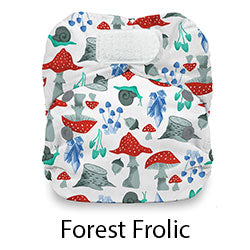 Natural Newborn Hook and Loop Forest Frolic
