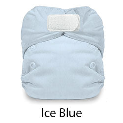 Natural Newborn Hook and Loop Ice Blue
