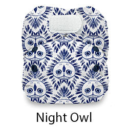 Natural Newborn Hook and Loop Night Owl