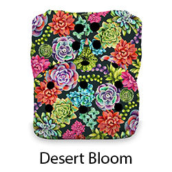 Stay Dry Natural AIO Snap Desert Bloom